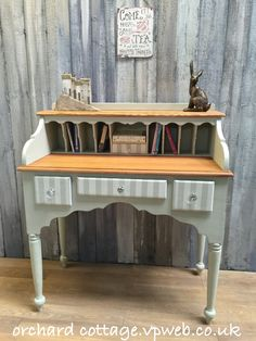 #orchardcottage35 #upcycle #revived #handpainted #quirkyfurniture #refinished #restored #Frenchic anniesloan #paintedfurniture #ChalkPaint  #interiordesign #cottage #desk