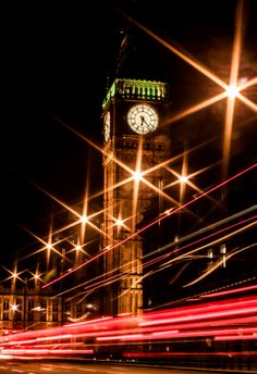 RUSH HOUR by jo williams - Big Ben - London - UK