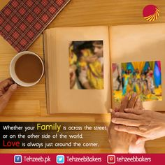 Whether your family is across the street or on the other side of the world, love is always just around the corner. #TehzeebBakers