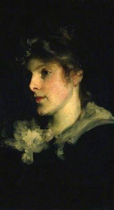 Miss Poppy Graeme,1881 (detail) // John Singer Sargent, Aberdeen Art Gallery & Museums, UK / Flickr