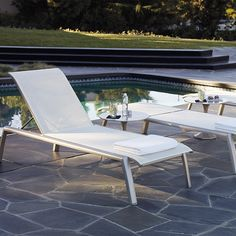 Set of Two Momentum Chaise Lounges