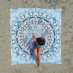 Perfect accessory to any dorm or bedroom. Doubles as a beach sheet! Original Hand Drawn Design, everyone is unique! Tapestry Beach, Bohemian Tapestry, Hippie Bohemian, Picnic Mat, Beach Picnic, Beach Towel, Beach Mat, Cheap Blankets, Infant Activities