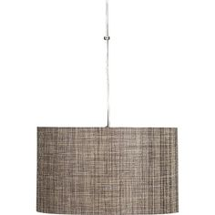 "Weave Pendant Lamp in Chandeliers, Pendants | Crate and Barrel 20"" diameter $199.00"