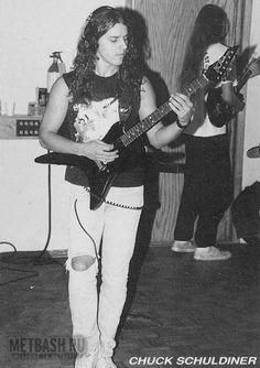 chuck schuldiner tattoo - photo #20
