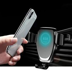 Automatic Gravity Qi Wireless Car Charger Mount For Mobile Phones Fast Charging Phone Holder Smartphone, Iphone 8, Pakistan, Mobile Phone Price, Mobile Phones, Eco Store, Aliexpress, Phone Holder, Cars