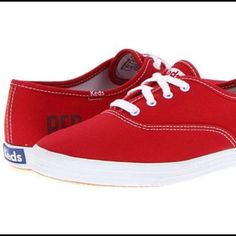 b8226f43969cd Shop Women s Keds Red size 9 Shoes at a discounted price at Poshmark. Keds  Taylor SwiftTaylor ...