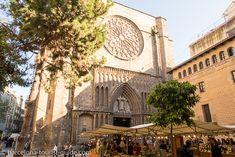 Placa del Pi Church Barcelona, Spain.