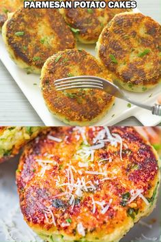 These Parmesan Mashed Potato Cakes are so addictive! A crunchy, cheesy crust is hiding the soft, velvety mashed potato filling. Classic Mashed Potatoes Recipe, Mashed Potatoes From Scratch, Parmesan Mashed Potatoes, Perfect Mashed Potatoes, Mashed Potato Cakes, Homemade Mashed Potatoes, Mashed Potato Recipes, Making Mashed Potatoes, Cheesy Potatoes