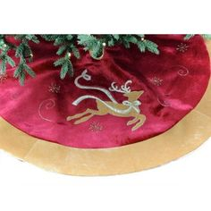 "48"" Velvet Tree Skirt with Reindeer Design by Seasons Designs, http://www.amazon.com/dp/B00A3YLRW8/ref=cm_sw_r_pi_dp_LKJ1rb1THXJC9"