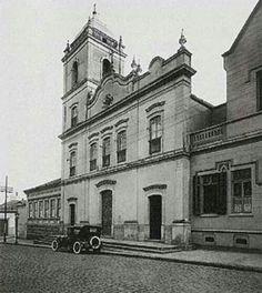 1910 - Igreja da Boa Morte na rua do Carmo, região da Sé.