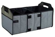 Foldable Trunk Organizer, Black/White on OneKingsLane.com