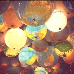Globes ...beautiful!