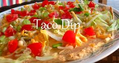 Easy Taco Dip Recipe