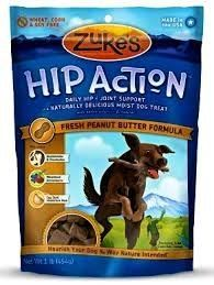 Pet Zukes Hip Action Natural Dog Treats Eases arthritis pain Size 6 Ounce Color Peanut Butter Supply StoreShop * Want additional info? Click on the image.