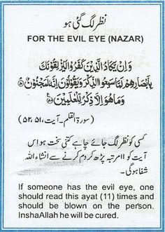 For The Evil Eye (Nazar)