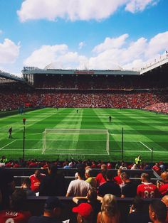 East Stand view at Old Trafford