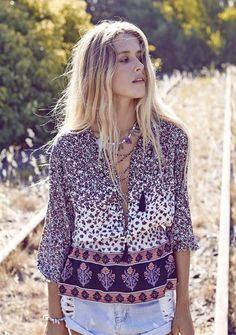 Auguste - Nomad Top #augustethelabel #shelivesfree #boho #bohotop