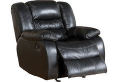 black leather recliner - Google Search