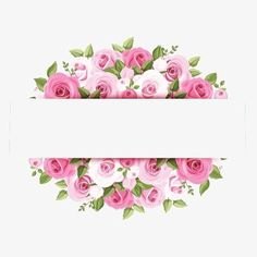 Pink watercolor flower borders, Flower Borders, Creative Border, Border Material PNG Image and Clipart Pink Roses, Pink Flowers, Paper Flowers, Flower Clipart, Floral Border, Flower Backgrounds, Flower Frame, Vintage Flowers, Watercolor Flowers