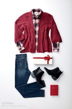 Perfect Holiday Sweater - Yarnspirations Blog