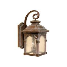 Essex Royal Bronze Three Light 9 Inch Outdoor Wall Light Vaxcel Wall Mounted Outdoor Out