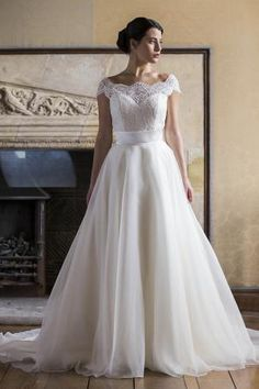 Augusta Jones Bridal dress Skyler with ball gown skirt   Augusta Jones Bridal 2015