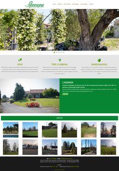 Abbiamo realizzato il sito web di Vivai Pennone, azienda florovivaistica in Alessandria! #numeri1 #webagency #sitiweb #torino #alessandria