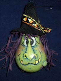 Witch Hazel by littleDebbis on Etsy, $10.00 hand painted light bulb