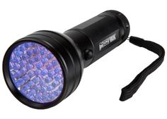 $18.00 ~ Power Tek Premium 51 LED 395 nm UV Ultraviolet Blacklight Flashlight - Spot Scorpions, Pet Urine, Counterfeit Money, Bed Bugs, Minerals, Leaks - 30 Day Money Back Guarantee Power Tek