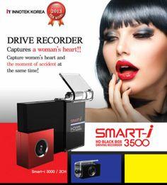 HD Blackbox Car DVR Vehicle Camera Video Recorder Night Vision Recorder 3.5 inch