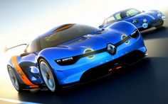 French fried supercar - Alpine-Renault A110-50 Concept