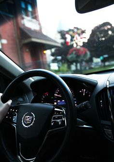 Cadillac ATS dashboard http://www.newroads.ca/blog/girls-night-out-cadillac-ats-newmarket/