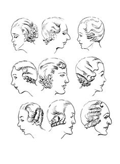 90 best 1930s hair images classic hollywood silent film celebs Short Black Hair Finger Waves wearing history the hair and head hairstyles of the early 1930s e