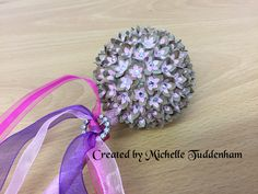 Made with the gorgeous #imaginationcrafts #starlights metallic paint on the wand stem  and lots of gems.