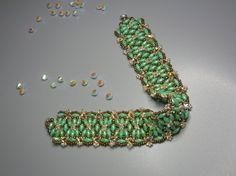 Royalty -  Spring 2013 color - Super Duo Beading  Kit & tutorial via Etsy