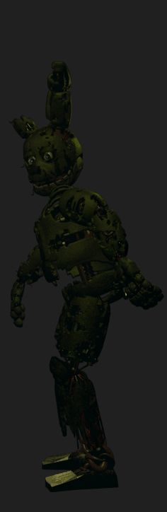 Springtrap Walking (Note how his legs don't move)