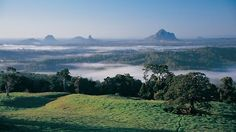 The beautiful Sunshine Coast Hinterland is not much more than an hour north of Brisbane and only 30 minutes from the Sunshine Coast, QLD