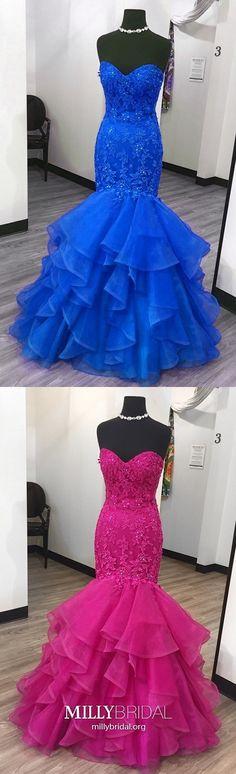 New Dress Blue Prom Military Ball Ideas Elegant Homecoming Dresses, Prom Dresses Blue, Mermaid Prom Dresses, Cheap Prom Dresses, Graduation Dresses, Formal Prom, Winter Formal Dresses, Formal Dresses For Teens, Trendy Dresses