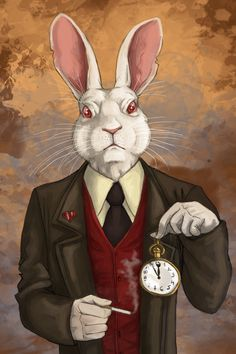 Mr Rabbit by ~fiszike