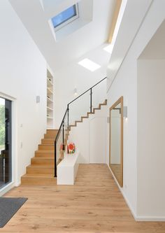 Keitel Haus, Bad, Stairs, House Design, Home Decor, Terraced House, Architectural Materials, Floor Plans, Design For Home