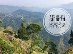 A complete guide to hiking Ella Rock including photos and detailed instructions. No need to hire a guide to take you on the hike. Complete it on your own like a local.
