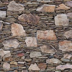 Add Uniqueness to Your Home Interior Decor with Dry Stack Stone Tile Designs - Awesome Indoor & Outdoor Stone Masonry, Stone Slab, Stone Veneer, Brick And Stone, Stone Tiles, Garden Retaining Wall, Gabion Wall, Dry Stack Stone, Dry Stone