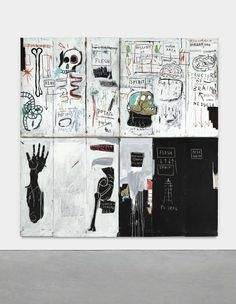 Belinda Neumann-Donnelly is suing her father and sisters to force the sale of 60 works they own, including a major Jean-Michel Basquiat. Jean Michel Basquiat, Basquiat Paintings, Basquiat Artist, Art Archive, Black Artists, Kandinsky, Grafik Design, Street Artists, Keith Haring