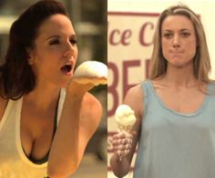 Anna Silk, Bo & Zoie Palmer, Lauren | Bo can melt my ice cream any day | Lost Girl
