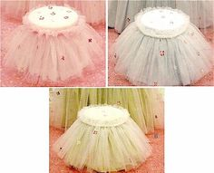i love these tutu tables for a princess party!