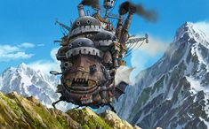 Howl's Moving Castle, Howl's Moving Castle