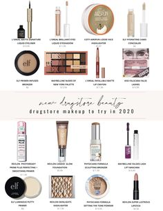 NEW Drugstore Makeup to try in 2020! Sharing some of the best drugstore makeup launches of spring 2020! best drugstore makeup, best drugstore beauty, drugstore makeup finds, best makeup, new drugstore makeup, new drugstore beauty, ELF cosmetics, Maybelline, Revlon makeup, Physicians Formula, Covergirl makeup, L'Oreal makeup