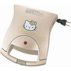ハローキティ ホットサンドメーカー HP-4383KT ツインバード工業(TWINBIRD) http://www.amazon.co.jp/dp/B001C9EARW/ref=cm_sw_r_pi_dp_MVHfxb1HKTGK2