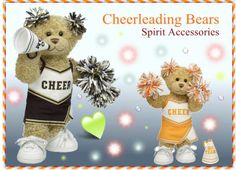 Spirit Accessories has many gift and fun gifts for your favorite cheerleader: Gift #cheerleadingBears to your favorite cheerleaders to show your love and affection for them.