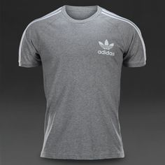 adidas Originals Mens Sport Essentials California Tee - Medium Grey Heather